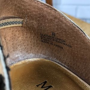 Madison Studio Shoes - Madison Studio- Pinball Peep Toe Shoe Size 8